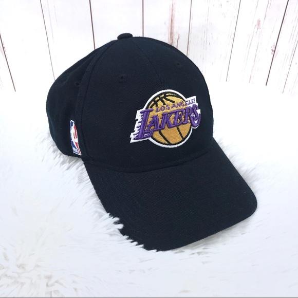 6c65f33ebc05 Reebok Los Angeles Lakers Black Hat
